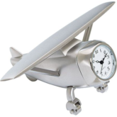 Miniature Aircraft Clock
