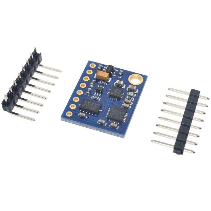 GY 85 BMP085 Sensor Modules 9 Axis Sensor Module ITG3205 + ADXL345 +  HMC5883L For Arduino/Raspberry-Pi/Robotics